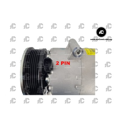 COMPRESSOR  BEHR 8FK351334-421 VS16 6PK                 | RANGE ROVER EVOQUE / VOLVO XC80 2012 / S60 2011 / FORD MONDEO / S-MAX