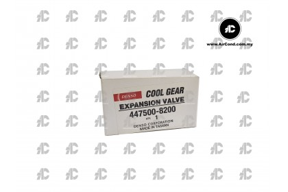 EXPANSION VALVE (DENSO COOLGEAR) 447500-8220 MADE IN TAIWAN | PATCO SYSTEM PROTON GEN2 / WAJA / PERSONA / GEN 2